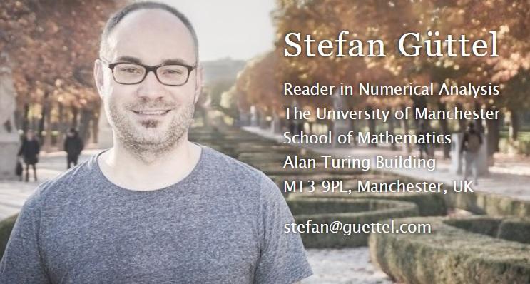 Infopage of Dr  Stefan Güttel